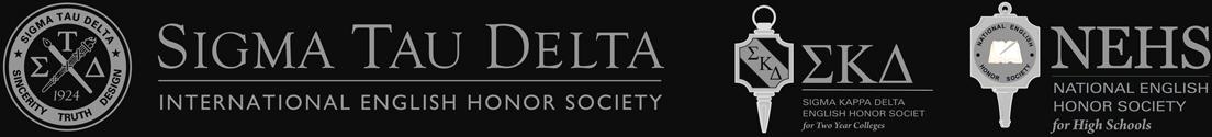 Sigma Tau Delta International English Honor Society, Sigma Kappa Delta, and NEHS