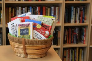 Better World Books Leadership Basket