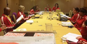 Student Leadership Committee meeting in NOLA, spring 2012