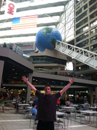 Joe at the CNN Center