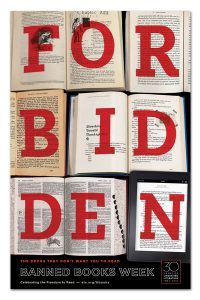 Banned Books Week - Forbidden Books Poster