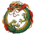 Ouroboros Dragon