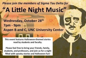 "Membership Recruitment: Former President reading poetry at the ""Little Night Music"" event"