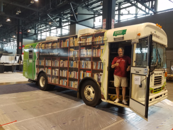 Wordsworth the Bookmobile