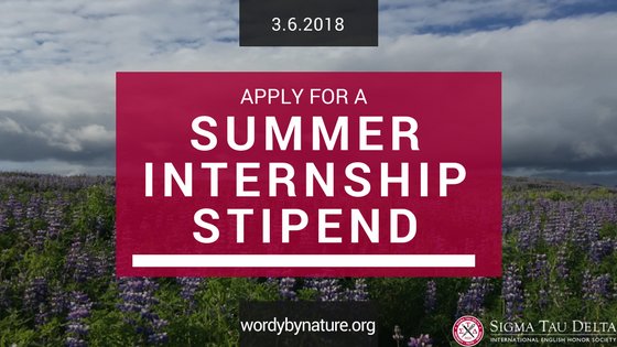 Summer Internship Stipend 2017