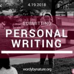 Featured-Submitting Personal Writing-2
