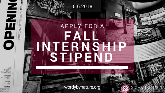 Fall Internship Stipend-2018