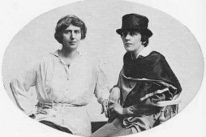Famous Women Natalie Barney and Romaine Brooks